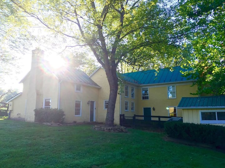Charming VA wine country farmhouse