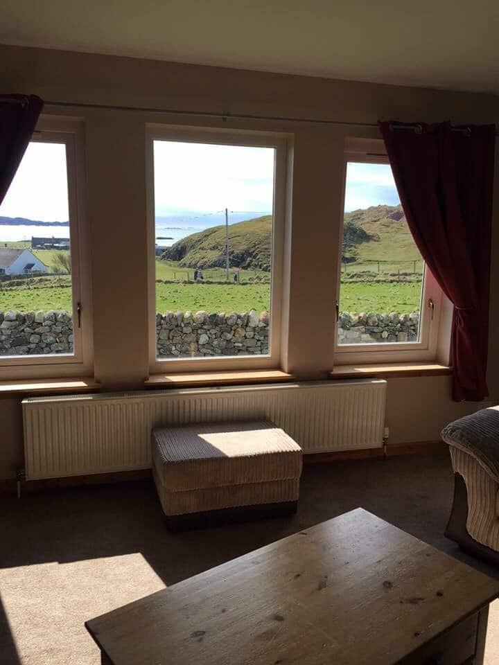 Ensuite B&B rooms, sea views
