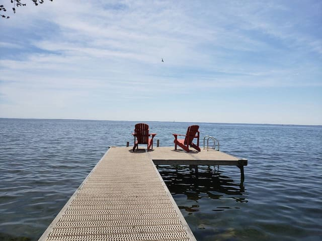 Water front Cottage Lake Simcoe