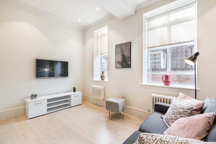 MOST CENTRAL AREA - COVENT GARDEN - SPACIOUS 1BR