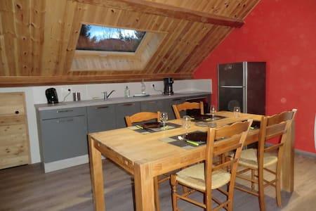 Joli appartement sous combles , vue sur montagnes - Chorges