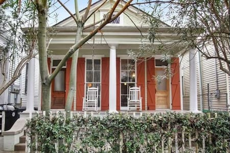 Historic New Orleans Home Steps from the Streetcar