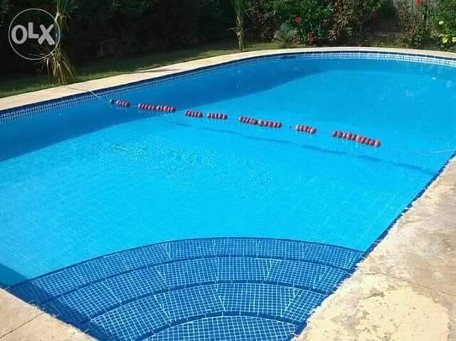 Villa with swiming pool -North Coast