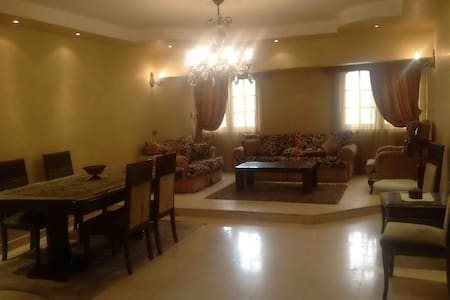 Cozy 2BD Flat infront of City Stars - Masaken Al Mohandesin - Apartmen