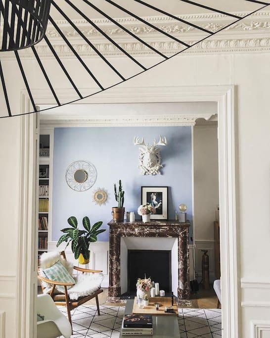 Vue sur salon / Linving room