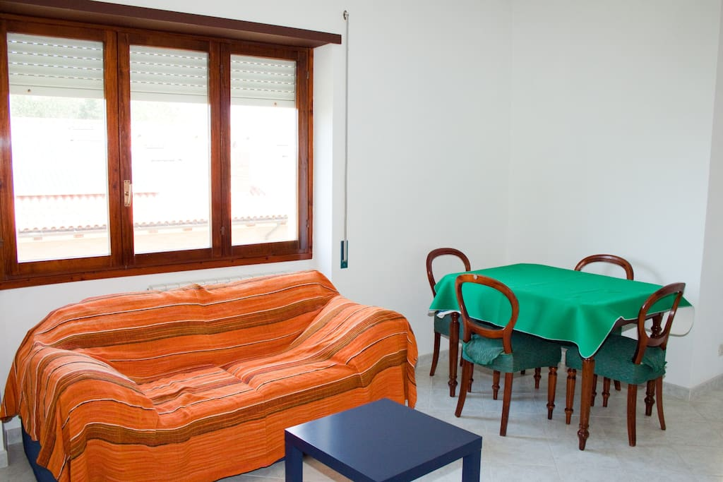 living-room with sofa-bed (2p)