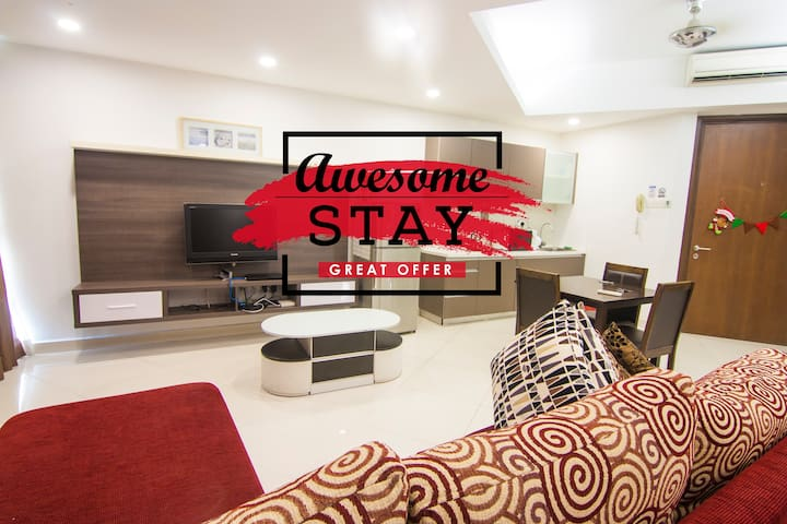 *Relaxing Staycation 1 bedroom@Regalia