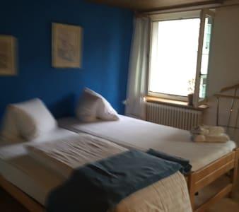 Einzel- oder Doppelzimmer mit Etage - Embrach