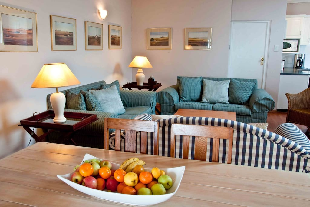 The comfortable Living & Dining Area
