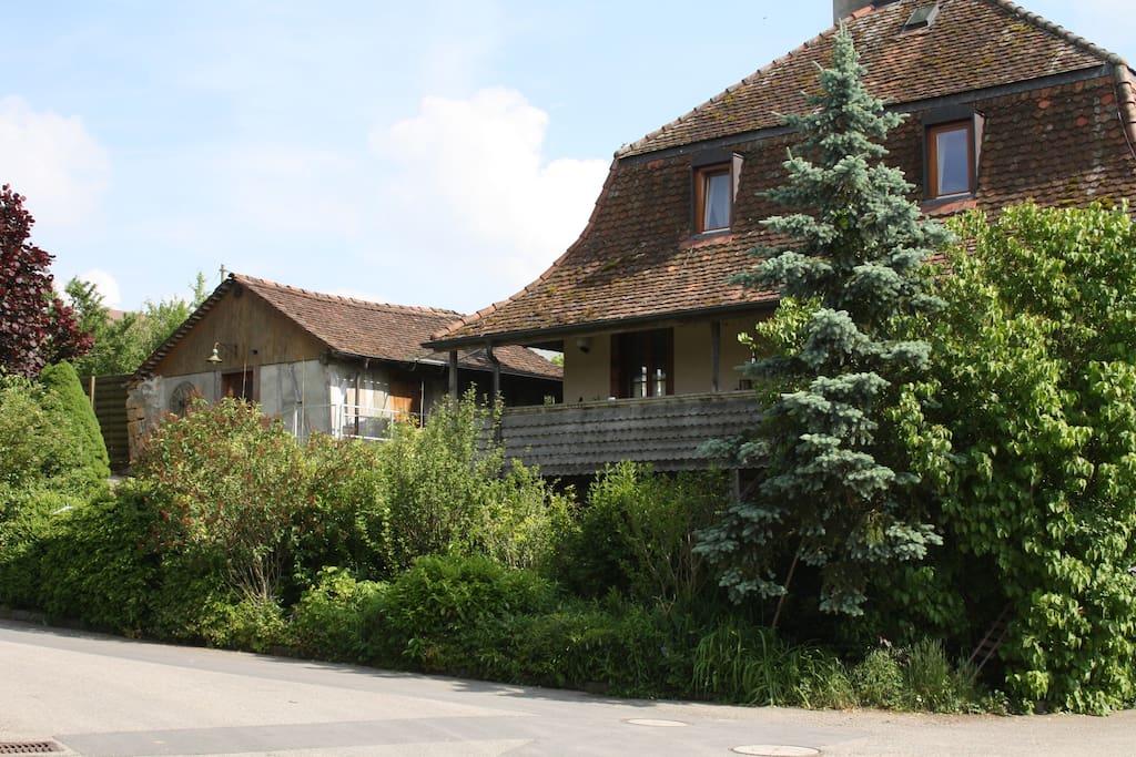 Ofenhaus und Bauernhaus