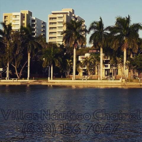 Casa#6, 5 recamaras, Tampico frente Laguna Chairel