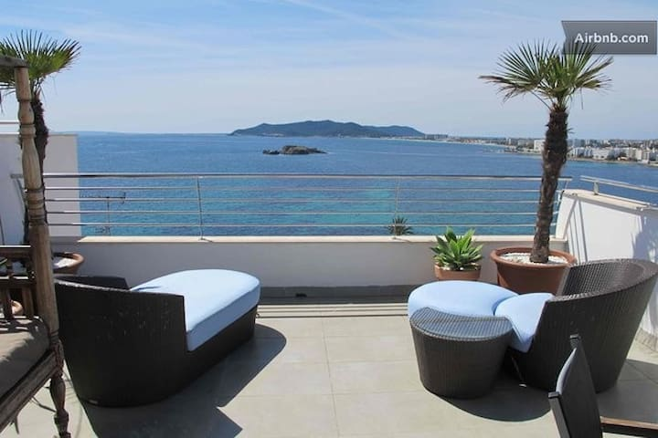 Los molinos with amazing sea view 3 - Ibiza - House