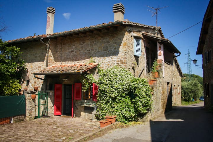House in ancient village in Chianti - Greve in Chianti - Dom