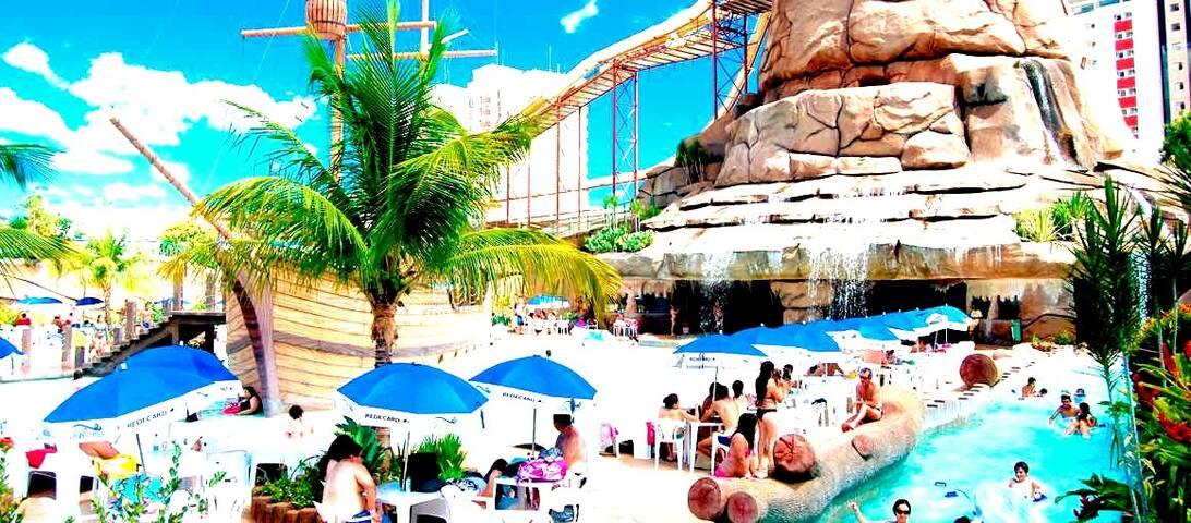 Hotel Clube Piazza, Caldas Novas