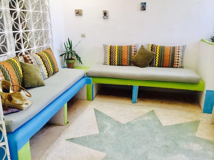 Villa sans vis à vis au centre de SidiBouzid plage