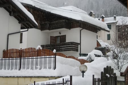 dolomites villa house sauna jacuzzi - Rivamonte Agordino