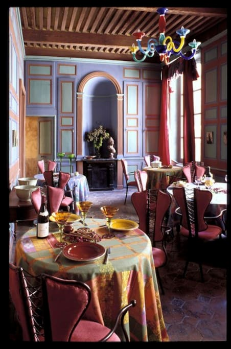 SALLE A MANGER HOTEL DE DIGOINE