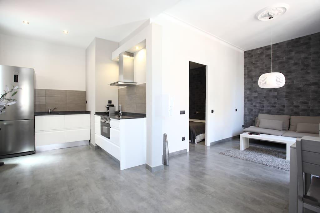 Gr cia appartement confortable et moderne avec for Climatisation appartement