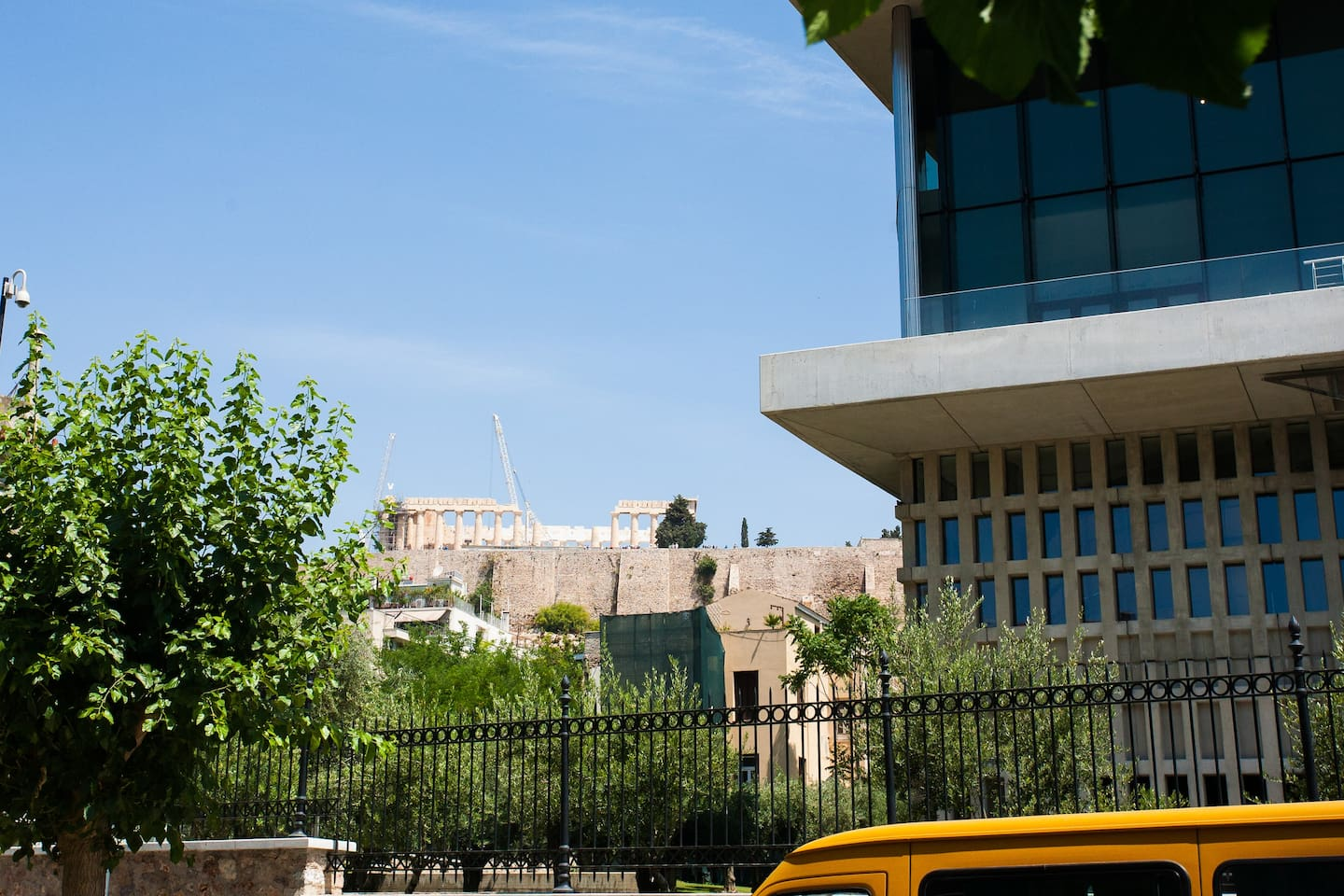 Heading out ? Acropolis & Acropolis museum in 1 minute walk.