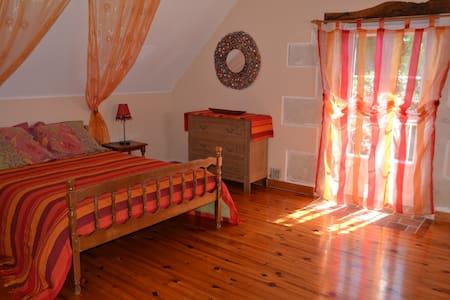 Chambre au calme à la campagne - Gästehaus