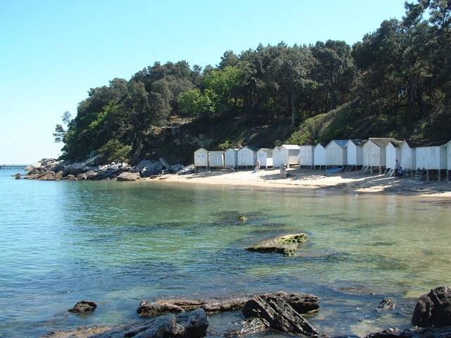 La plage à l'ombre des chênes verts - Noirmoutier-en-l'Île - Villa