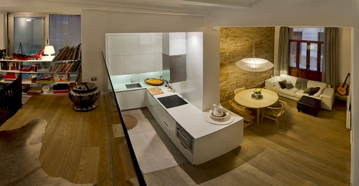 Open White Loft by CuldeSac