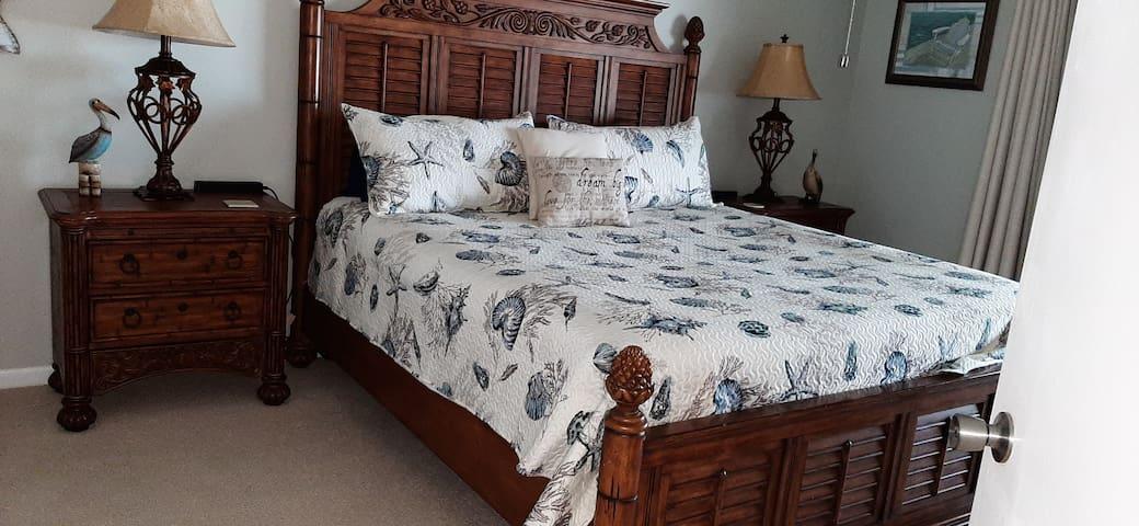 King Bed - Master Bedroom
