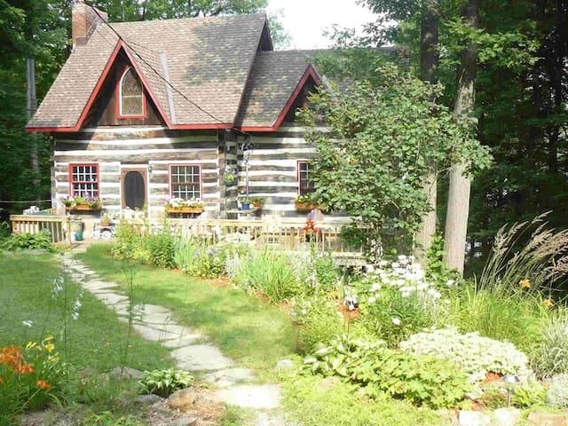 Lakefront log home - Perth Road