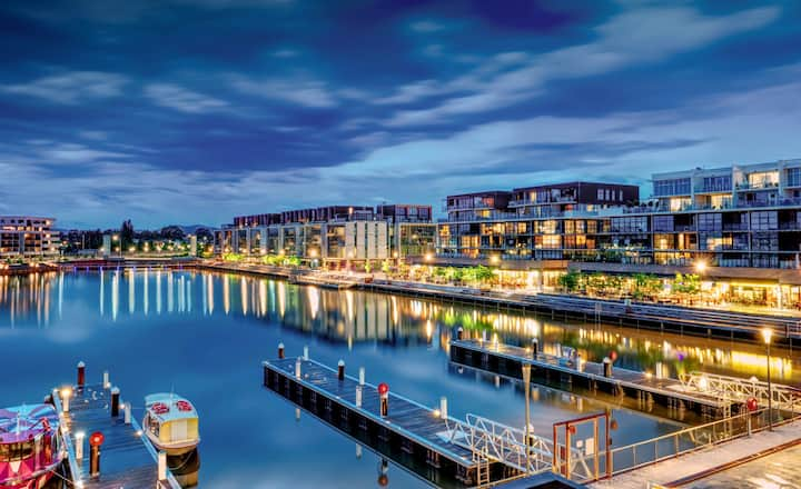 Prestige Waterfront Apartment in Kingston, ACT
