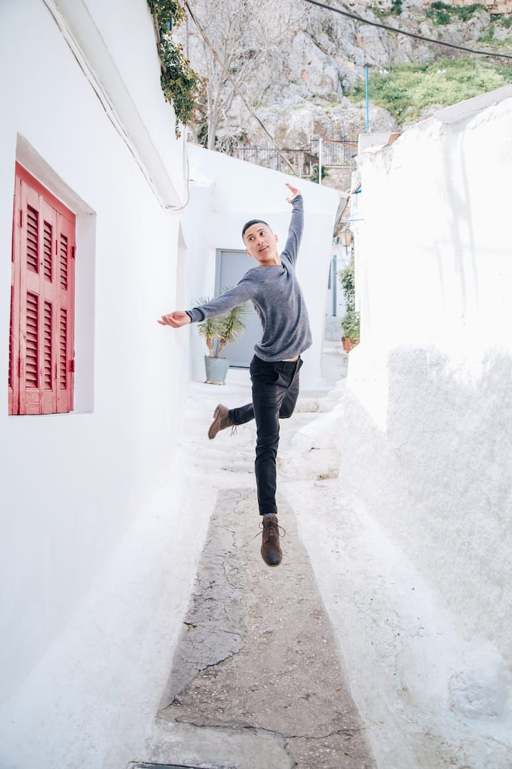 Jump! Plaka day shoot
