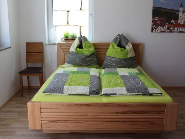 Ferienwohnung Alpenblick, (Zwiefalten), Ferienwohnung, 40qm, 1 Schlafzimmer, max. 4 Personen