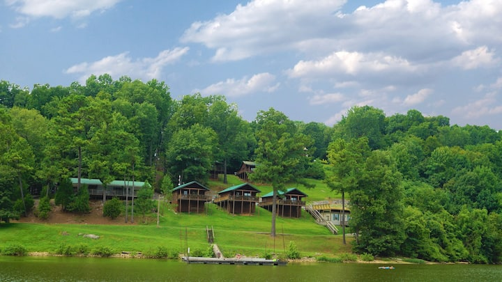 ★Holiday Hills Resort- Lake Barkley - Log Cabin
