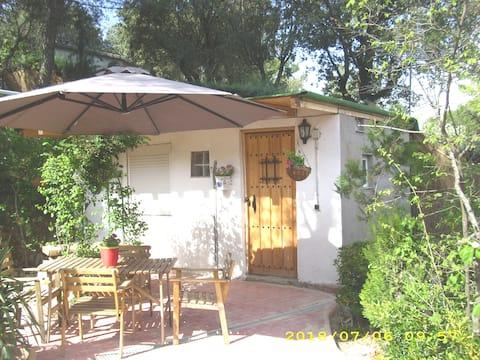 Cabaña de invitados en El Escorial