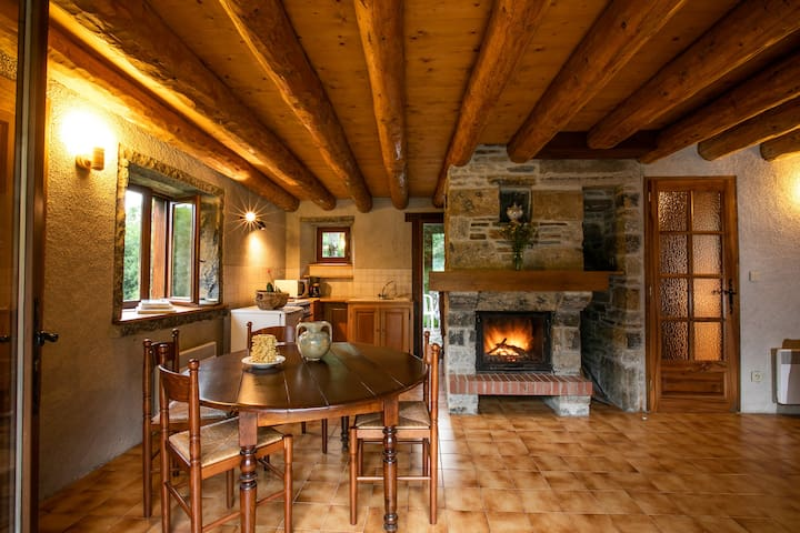 HOLIDAY RENTAL IN THE FOREST IN THE PYRENEES