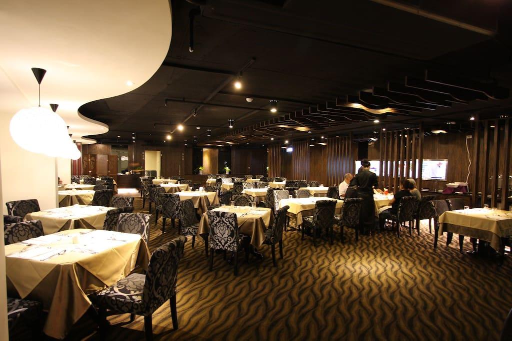 餐廳(早餐中西式自助餐) 12F Breakfast Area