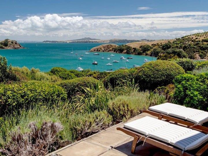 Expansive Views of Matiatia Bay