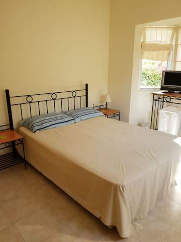 Bedroom 1. Spacious double bedroom, wardrobes, en suite bathroom with bath & shower