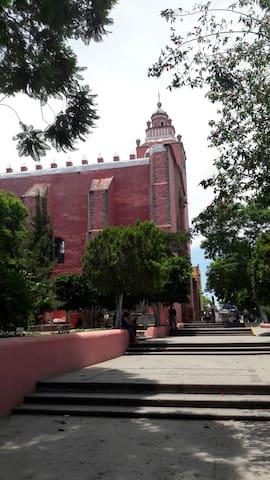 A 1856 Hacienda home - art center