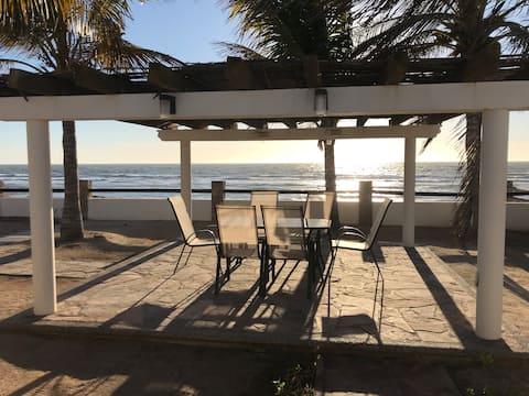 Disfruta en Casa de playa frente al Mar