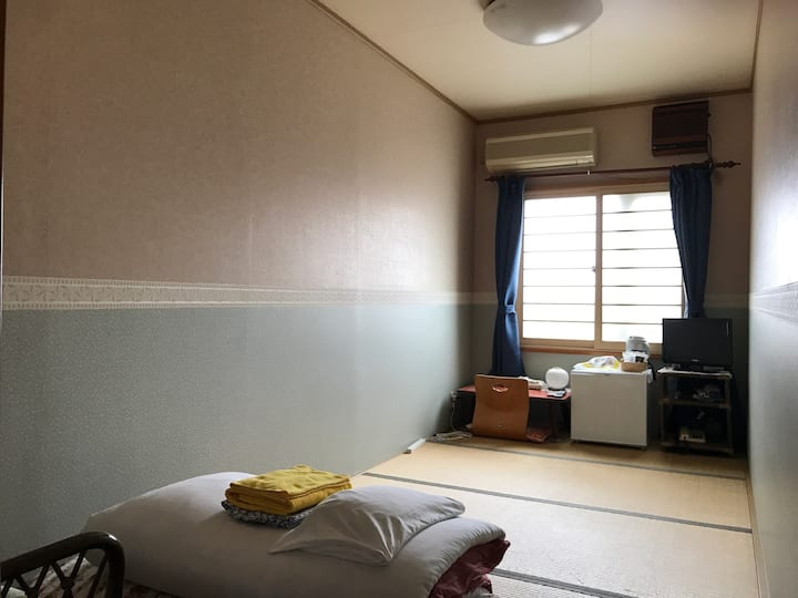 Private room in Pension Puppy Tail(single room)