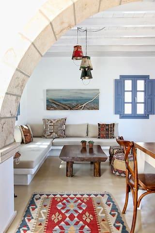 Patmos Blue Bay Summer House - Groikos  - Rumah
