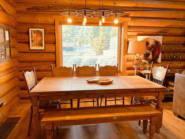 Picture your family around this table.