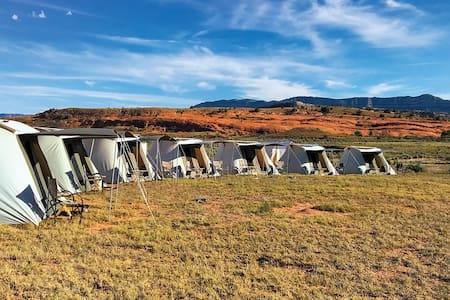LUXE Tent Camp in Grand Canyon | by Air Concierge - North Rim - Telt