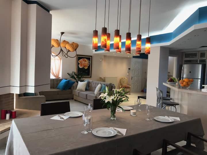 New villa
