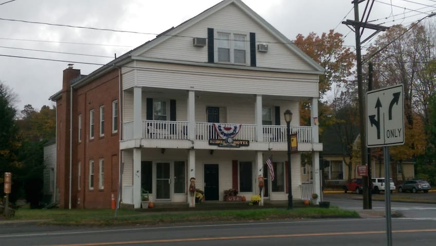"""The Historical Hazardville Hotel"""
