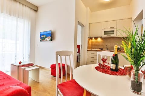 Cozy 1bdr apartment with terrace free parking1