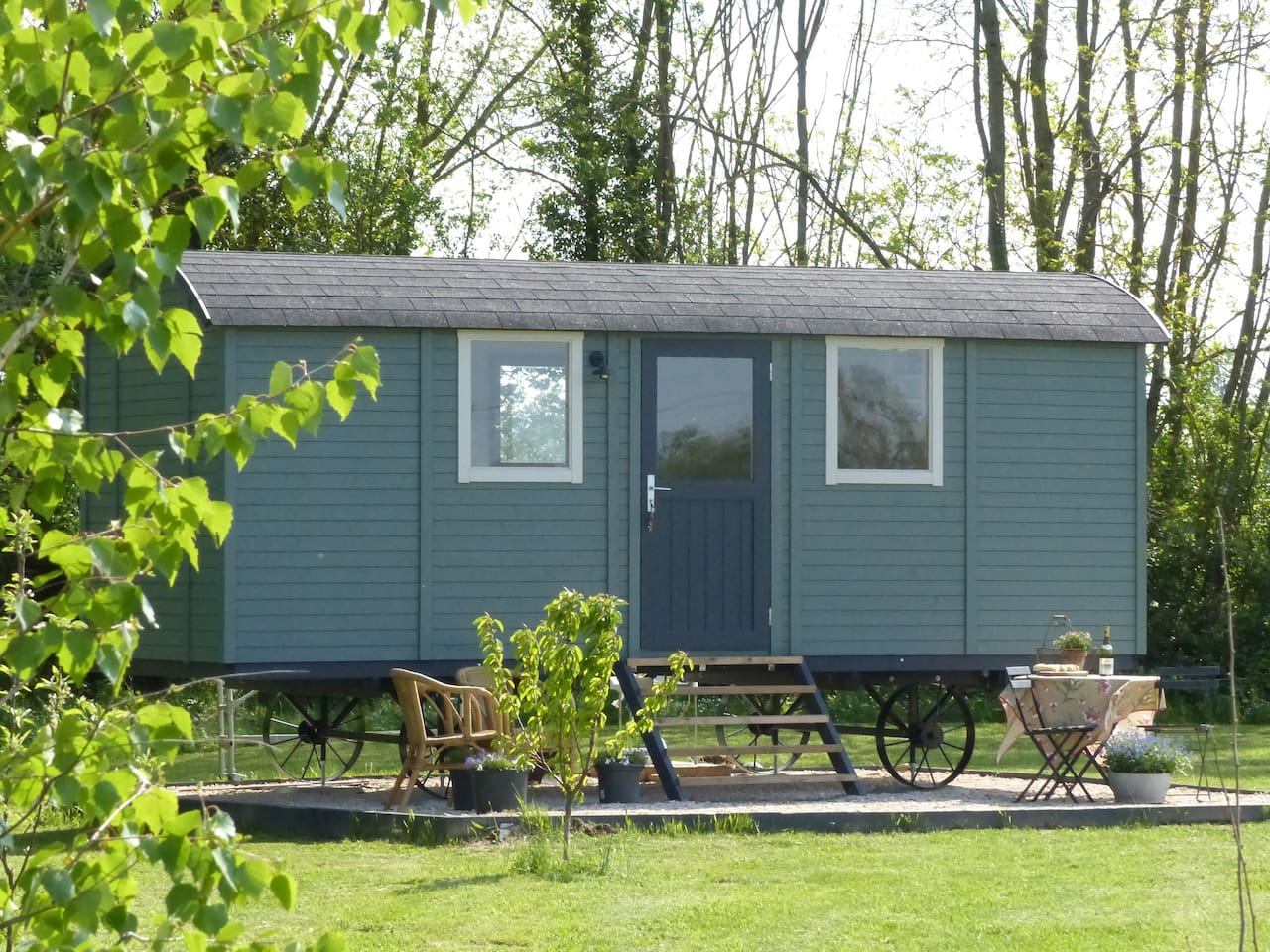Shepherds hut for 2