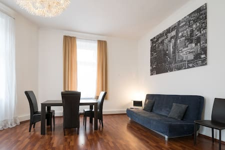 Huge 2-room App at Main Station - Francoforte - Appartamento