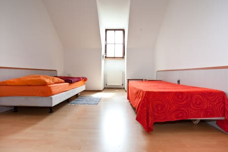 schönes Doppelzimmer  + Zustellbett - Wolnzach