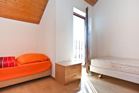 Ein-Zwei Bett-Zimmer - Au-Hallertau - Byt